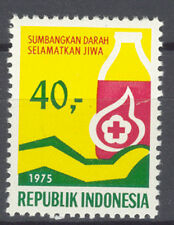 INDONESIA 1975 ZBL SERIE 817 RED CROSS MNH