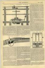 1867 Pyrenean Marble Polishing Machine Chassepot Rifle