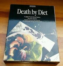bePUZZLED MYSTERY Puzzle DEATH BY DIET 1993 500 Pieces with Book