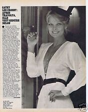 Coupure de presse Clipping 1979 Cathy Lee Crosby (1 page)