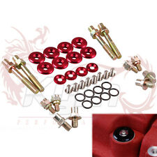 KYLIN ACURA HONDA B-SERIES B16 LOW PROFILE ENGINE VALVE COVER WASHER BOLT RED