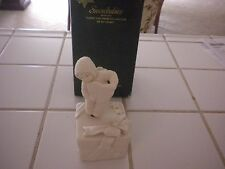 "Department 56 Snowbabies ""I Love You From The Bottom Of My Heart"" Music Box"