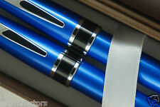 Cross Limited Classic Dalton Sky Blue Lacquer Ball Pen & 0.7MM Pencil Set