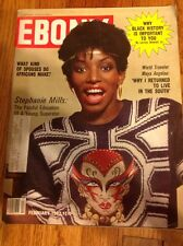 "Vintage Ebony Magazine February 1982 "" Stephanie Mills """
