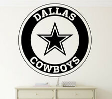 NFL Dallas Cowboys Wall Decal Vinyl Sticker Home Sport Art Decor Football Emblem