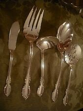 1847 Rogers Bros Silverplate Reflection Hostess Meat Tomato Ladle Berry Butter