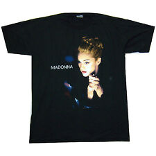"MADONNA ""FOLDED HANDS"" PIC SOMETHING TO REMEMBER BLACK T-SHIRT XL NEW OFFICIAL"