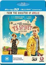 The Young and Prodigious T.S Spivet (3d) Region B Blu-ray Discs NEW