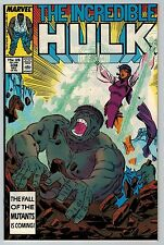 Incredible Hulk #338 (C6354) McFarlane Art - 1st Appearance of Mercy - Grey Hulk