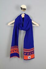 Penfield Men's Deer Scarf Blue Orange One Size