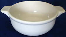 WHITE TWO HANDLED 15 OUNCE GRAB IT BOWL/DISH