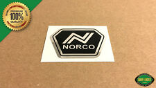 NORCO BMX Head Tube Badge Replacement Decal Sticker Chrome - Starfire, Spitfire