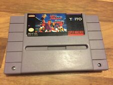 Super Nes USA:       SUPER SOCCER CHAMP