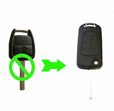 FITS Opel Vauxhall Astra Zafira Vectra 3 Buton remote key conversion folding kit