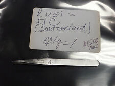 Rubis OC Used Stainless Non-magnetic Tweezer (made in Switzerland)