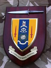 41 Commando Royal Marines with Pewter Model Military Army Wall Plaque