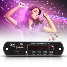 12v LED Bluetooth MP3 Player Decoder Board SD/USB/AUX/FM Stereo + Remote Control