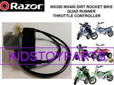 Razor MX350 Dirt Rocket Bike Scooter Twist Grip Throttle  4 Pins / 4 Wires
