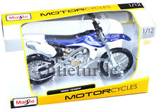 Maisto 20-13021 Yamaha YZ 450F Dirt Bike Motorcycle 1:12 Diecast Blue