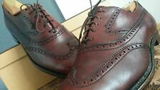 BROOKS ENGLISH Brooks Brothers CHEANEY 852 Full Brogue WINGTIP OXFORD SHOES 7.5D
