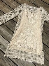 FREE PEOPLE Jen's Pirate Booty Crochet Dress Sz XS