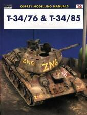 Osprey Modelling Manuals 16: T-34/76 & T-34/85 by Cabos + Prigent  SB 2001