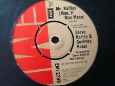 STEVE HARLEY & COCKNEY REBEL . MR RAFFLES ( Man, it was Mean ) 1975