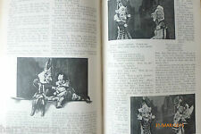 Punch and Judy Show History Rare Antique Victorian 1895 Article & Script Toby