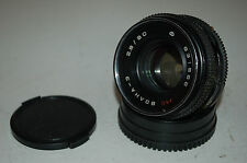 Volna-3, 2.8/80 Lens. Kiev-88 / Salute-C Mount. With Both Caps. 1983. No.831566