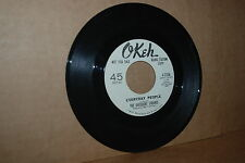 SLY & THE FAMILY STONE REL.: DIFFERENT STROKES; EVERYDAY PEOPLE OKEH WL PROMO 45