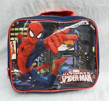 Spiderman Con Aislante Bolsa De Almuerzo-BNWT-Original Producto Con Licencia