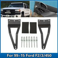 For Ford F250 F350 F450 99-15 52'' LED Light Bar Roof Mounting Brackets New