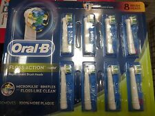 Oral-B Floss Action Replacement Brush Heads 8-pack (New)