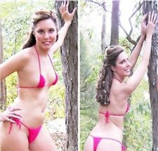 NEW CROCHET THONG CUSTOM MADE JUST FOR YOU IN ANY COLOR SIZE SMALL OR MEDIUM