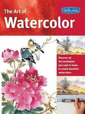 The Art of Watercolor : Learn Watercolor Painting Tips and Techniques, Very Good