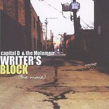 Capital D & Moleman Writers Block (the Movie) CD