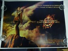 The Hunger Games: Catching Fire Original Film / Movie Poster Quad 76x102cm