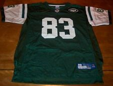 NEW YORK JETS #83 MOSS NFL FOOTBALL JERSEY YOUTH XL 18-20