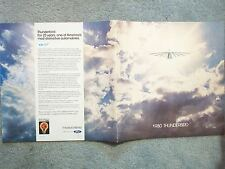 1980 FORD THUNDERBIRD BROCHURE  SPREAD YOUR WINGS