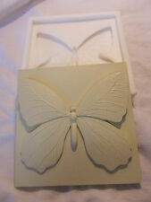 BUTTERFLY WALL PLAQUE WALL TILE SILICONE RUBBER MOULD ~ CREATE MAKE DIY CRAFTS ~