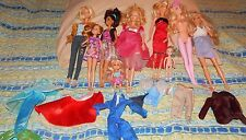 Barbie Doll Lot W/ Clothes Princess + Over 15 Pieces GUC