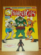 THUNDERCATS #56 9TH APRIL 1988 BRITISH WEEKLY FREE POSTER GIFT INCLUDED