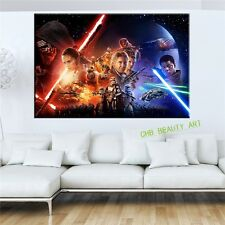Star Wars Episode The Force Awakens canvas painting poster wall print