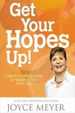 Joyce Meyer Get Your Hopes Up HARDCOVER BRAND NEW