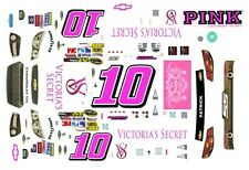 #10 Danica Patrick Victoria's Secret 2013 Chevy SS 1/64th HO Slot Car Decals