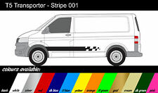 VW Transporter T4 T5 - x2 Side Stripe - Decals / Stickers / Graphics ref001