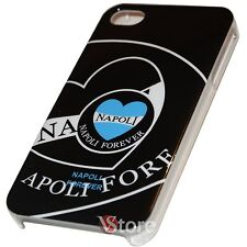 Cover Custodia Per iPhone 4 e 4S Napoli Forever Retro Rigida + Pellicola Display