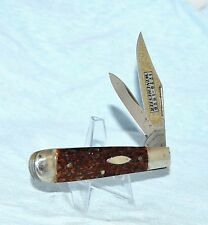 """WINCHESTER LARGE BONE JACK KNIFE 1976 """"UNUSED!"""" GERMANY """"NO CASE OR BOX"""""""