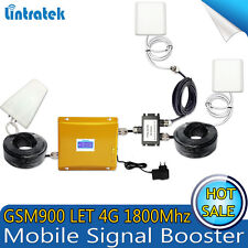 4G LTE 1800 GSM 900 Mobile Cell Phone Signal Repeater Repetidor Celular Booster