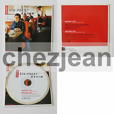 RARE Levi's sta-prest denim cd single Basement Jaxx Breakbeat Era